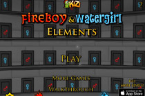 Fireboy and Watergirl 5 - Elements Title Screen